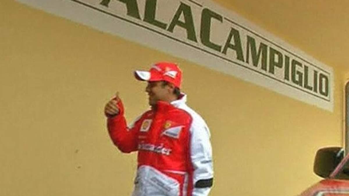 Команда Ferrari проводить традиційну вечірку
