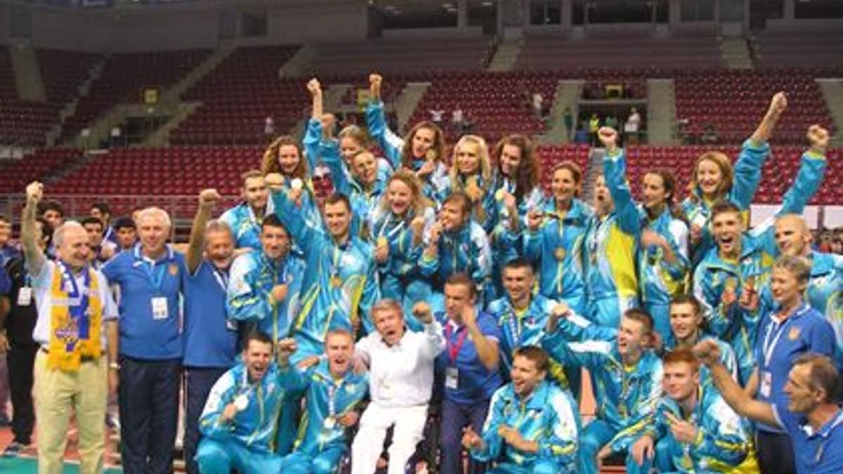 Майже 90 медалей виборола українська команда на міжнародних спортивних змаганнях для глухих