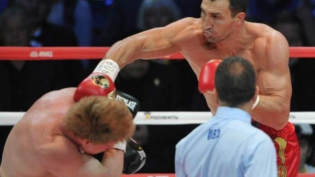Кличко и Поветкин на ринге