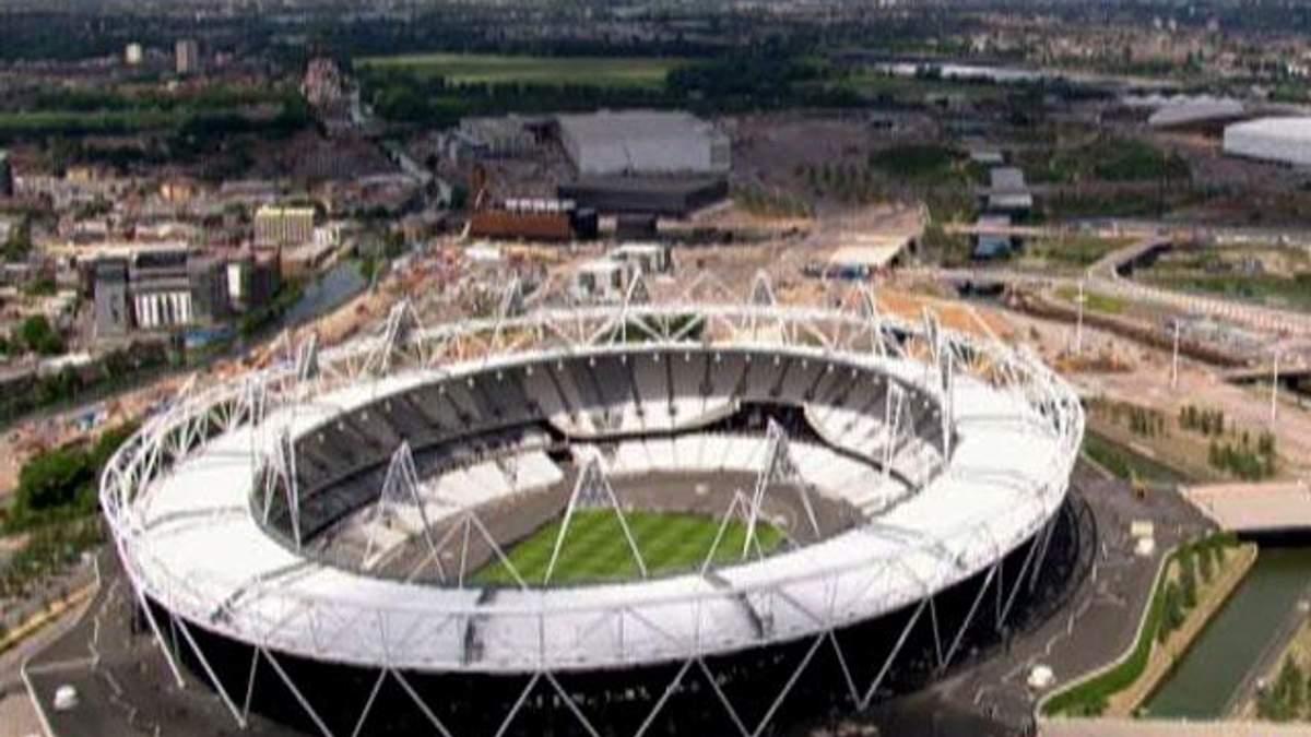 Вражаючі олімпійські стадіони Лондона, Берліна та Афін