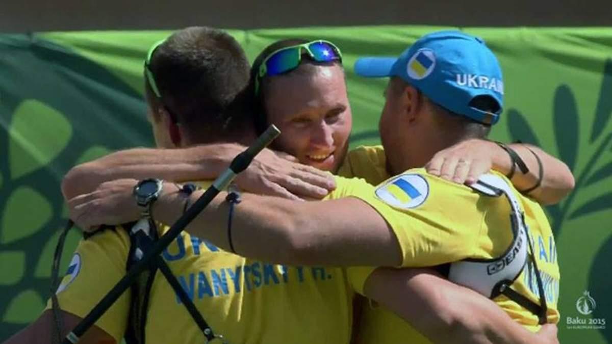 """Европейские Игры: Украинские лучники завоевывают очередное """"золото"""""""