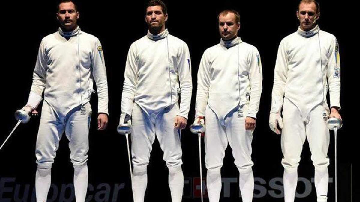 Украинские фехтовальщики на шпагах — лучшие в мире