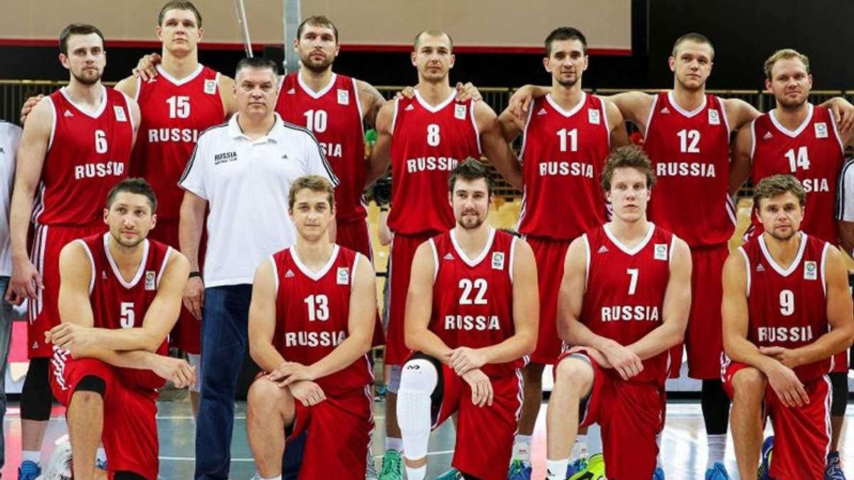 Российские сборные по баскетболу отстранили от международных соревнований