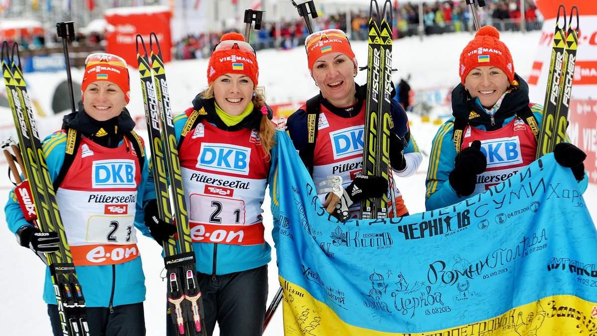 Украинские биатлонистки вошли в пятерку сильнейших на Чемпионате мира