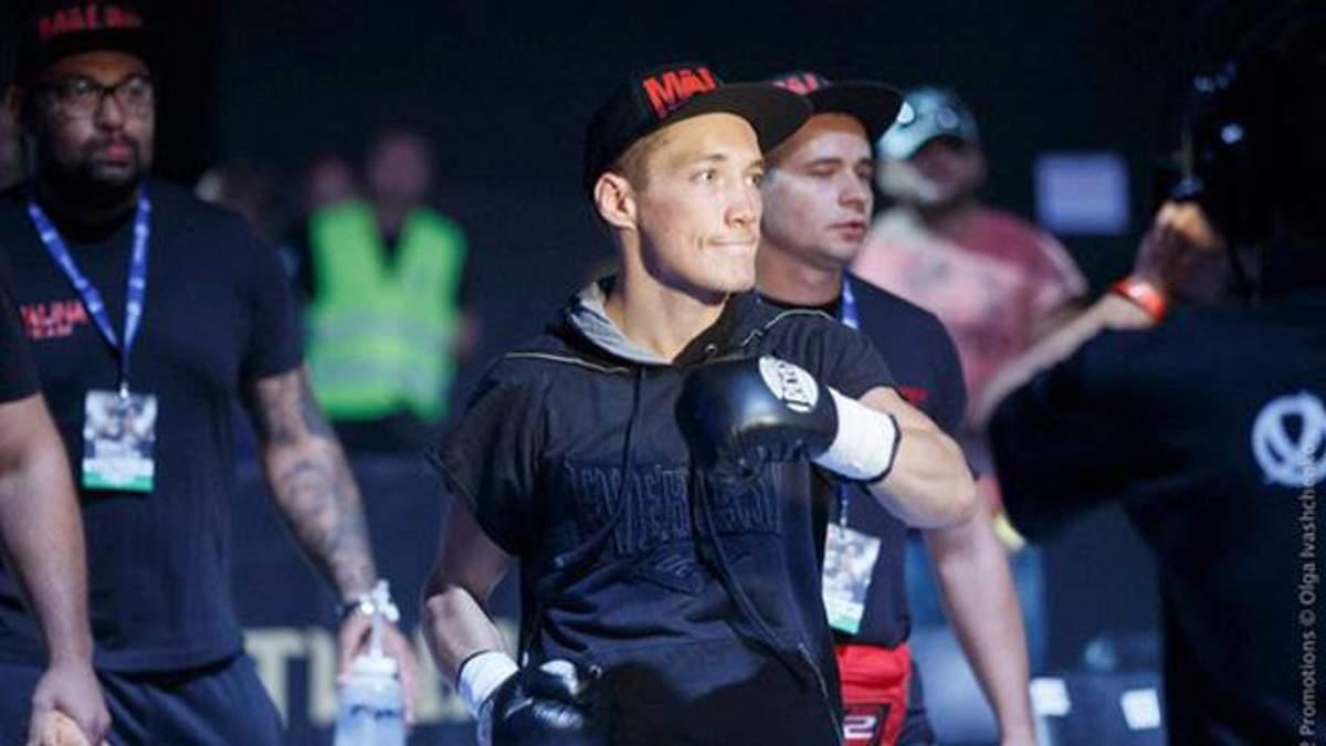 Украинский боксер триумфально забрал у россиянина чемпионский пояс Европы