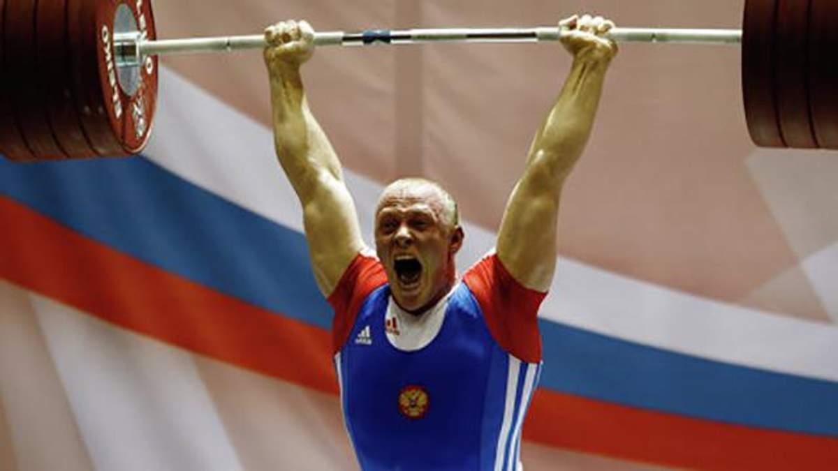 Сборную России по тяжелой атлетике отстранили от Олимпиады