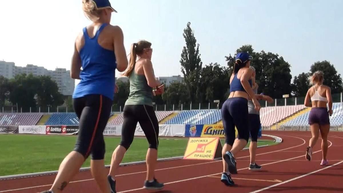 Как тренируются украинские легкоатлеты перед Олимпиадой