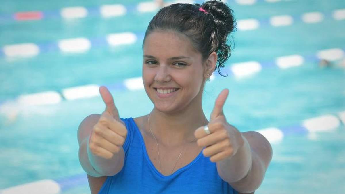 Українська плавчиня везе з Москви 2 золоті медалі