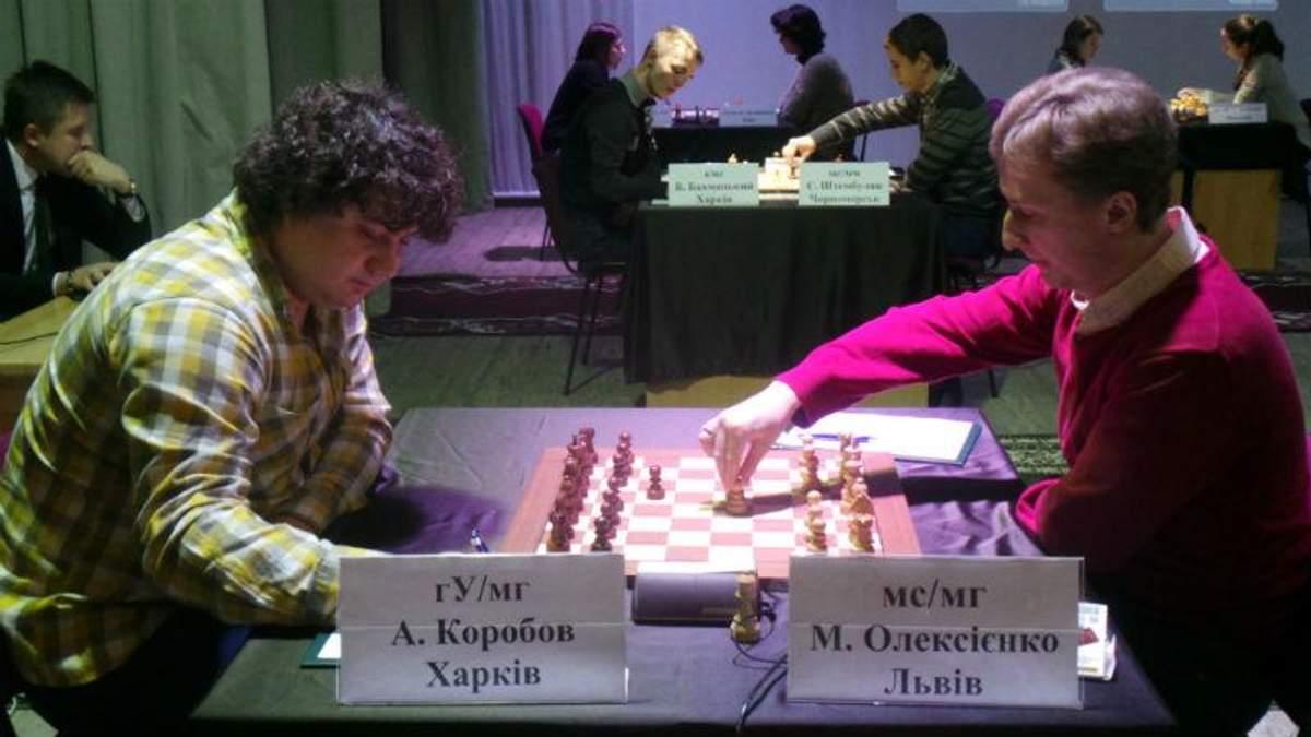 Чемпионат Украины по шахматам: фавориты вышли в лидеры
