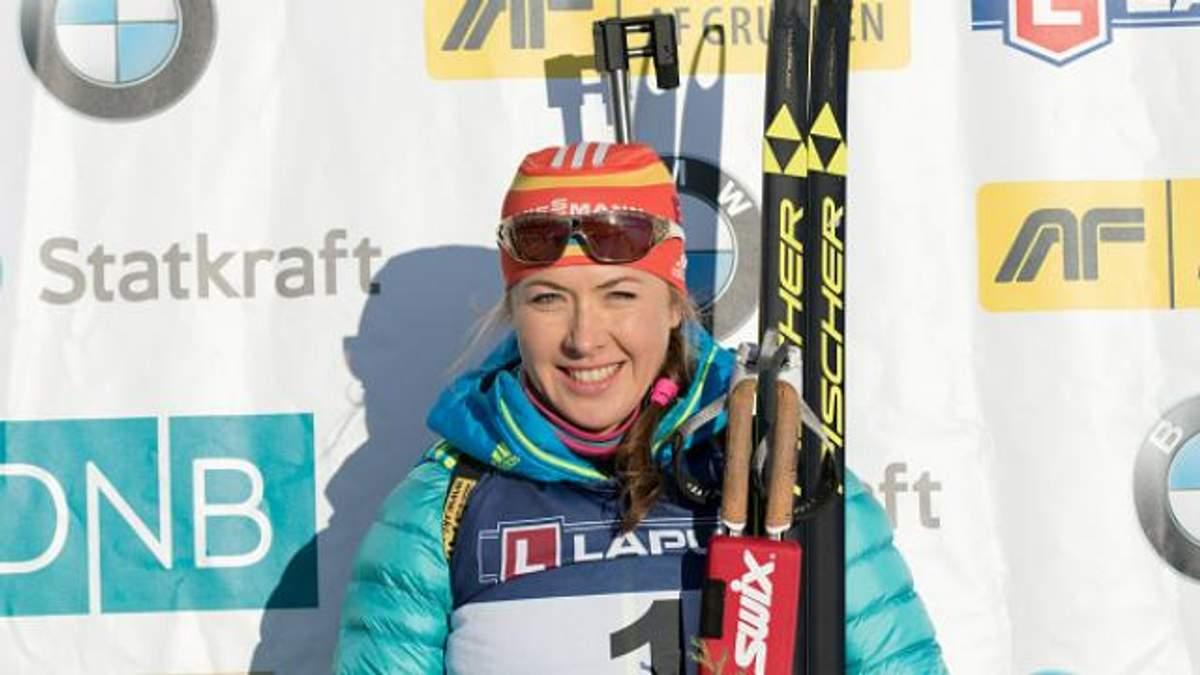 Чемпіонат Європи з біатлону: Джима вирвала срібло у росіянки