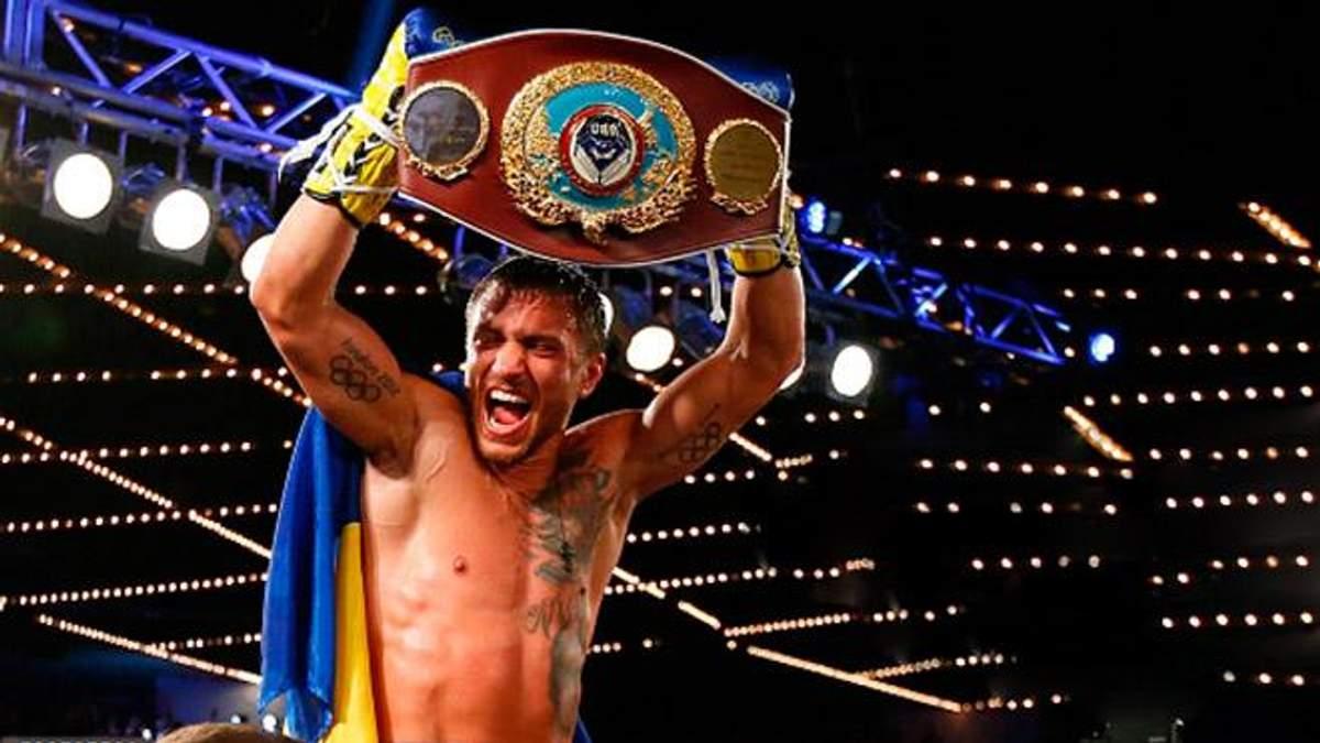Украинский боксер получил награду лучшего боксера мира