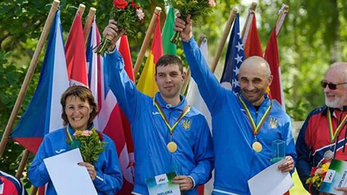 Дефлимпийская сборная Украины