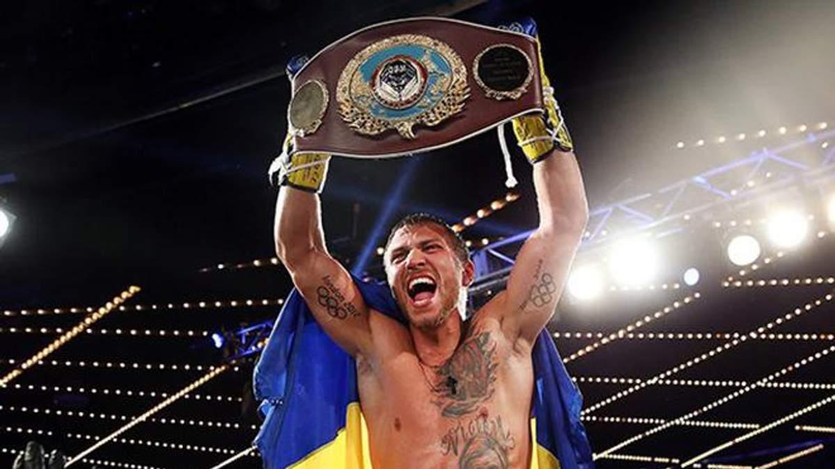 Василий Ломаченко – лучший боксер года по версии Boxing News 24