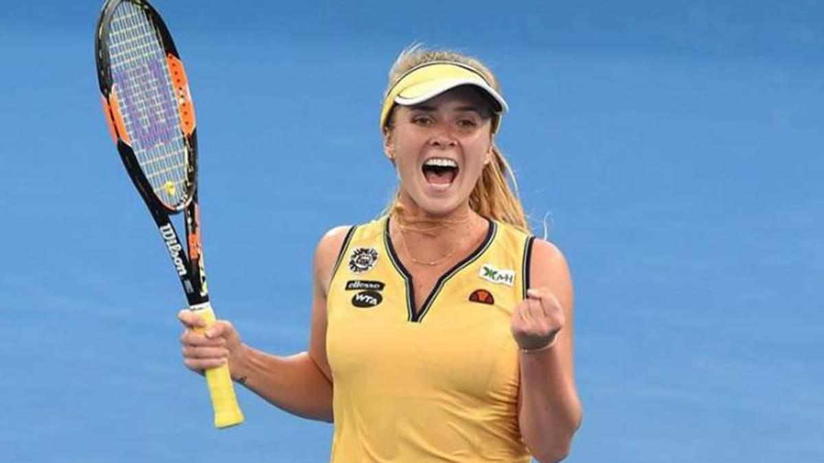 Світоліна тріумфально розпочала новий тенісний сезон