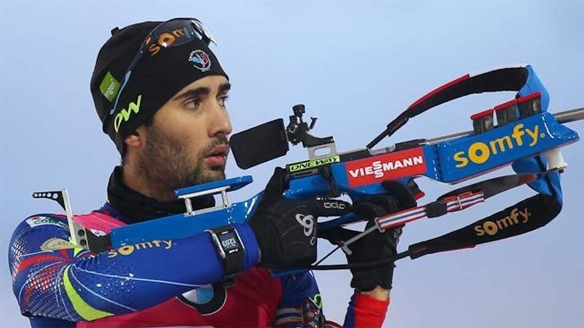 Мартен Фуркад здобув чергову першість на етапі кубка світу з біатлону