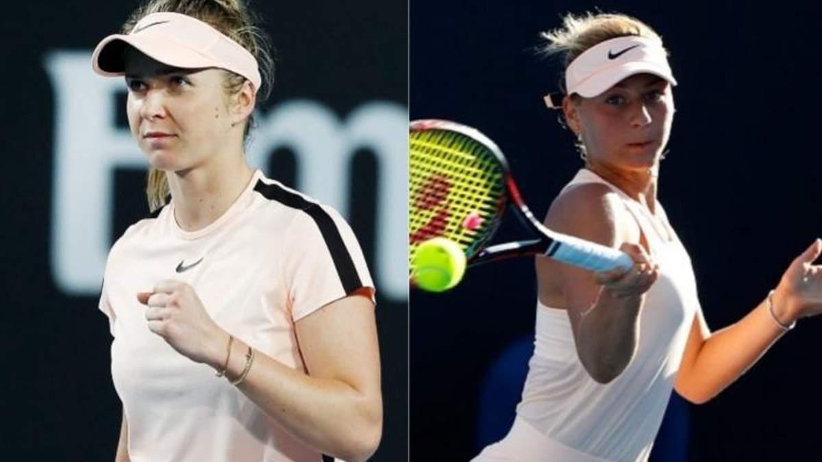 Світоліна і Костюк можуть зійтись у двобої на кортах Australian Open