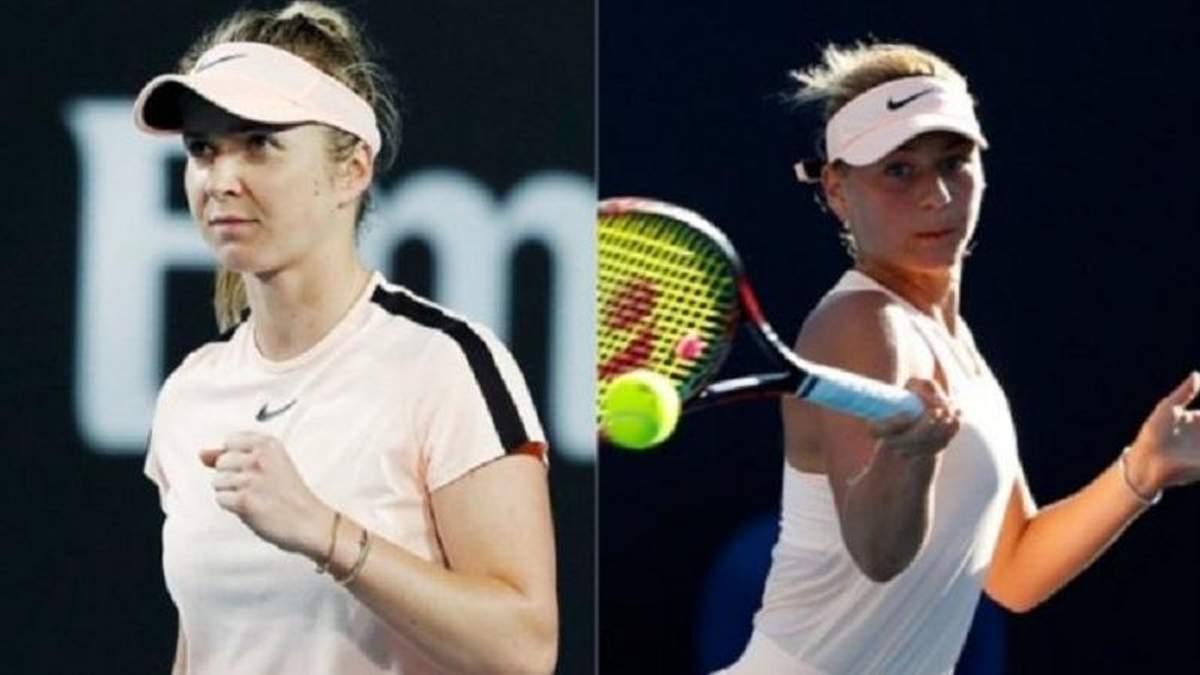 Світоліна боротиметься з Костюк у третьому раунді Australian Open