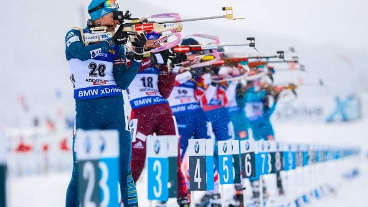 Олімпіада-2018: названо остаточний склад збірної України з біатлону