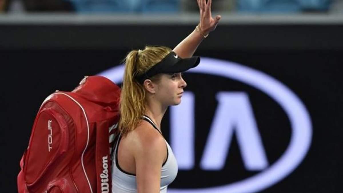 Світоліна зізналась, чому зазнала поразки на Australian Open-2018
