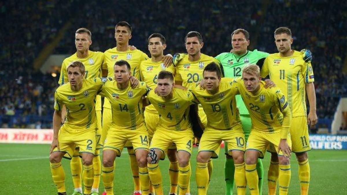 Збірна України з футболу отримала суперників у Лізі націй УЄФА
