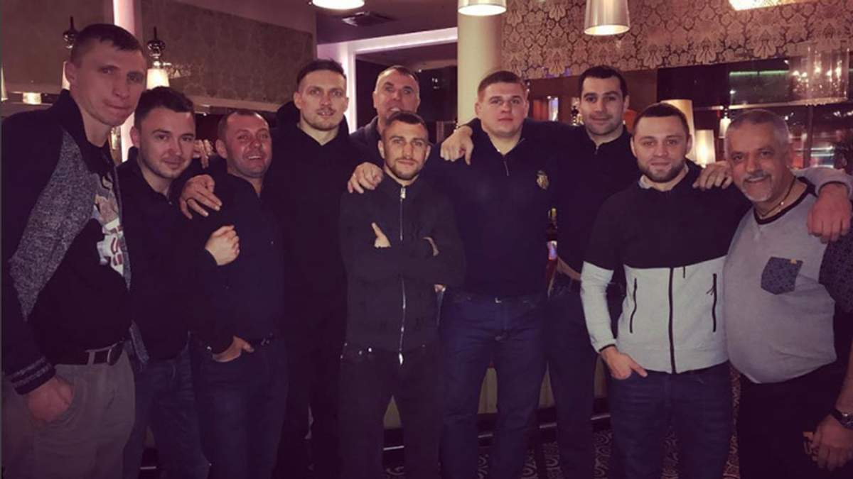 Бій Усик – Брієдіс: Ломаченко приїхав підтримати свого кума