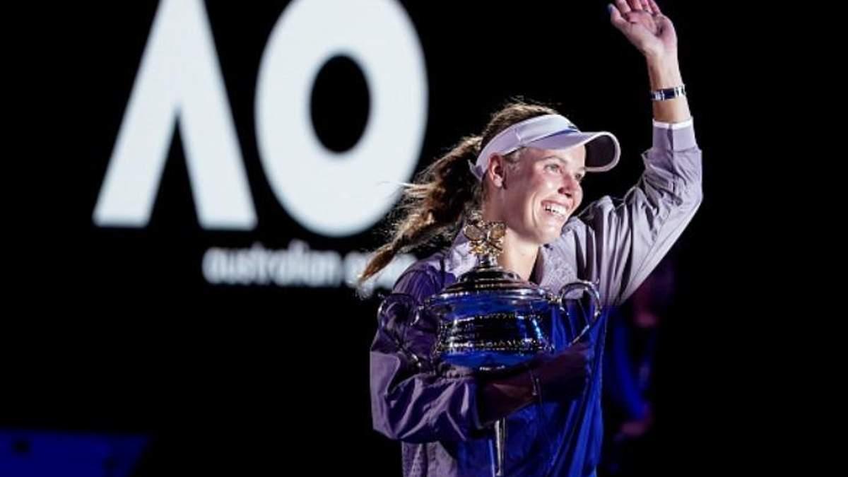 Теніс: Australian Open виграла Каролін Возняцкі