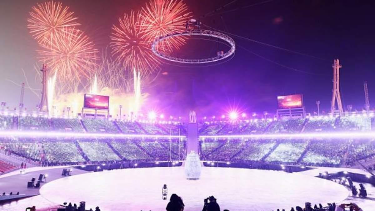 Открытие Олимипиады 2018: онлайн трансляция открытия