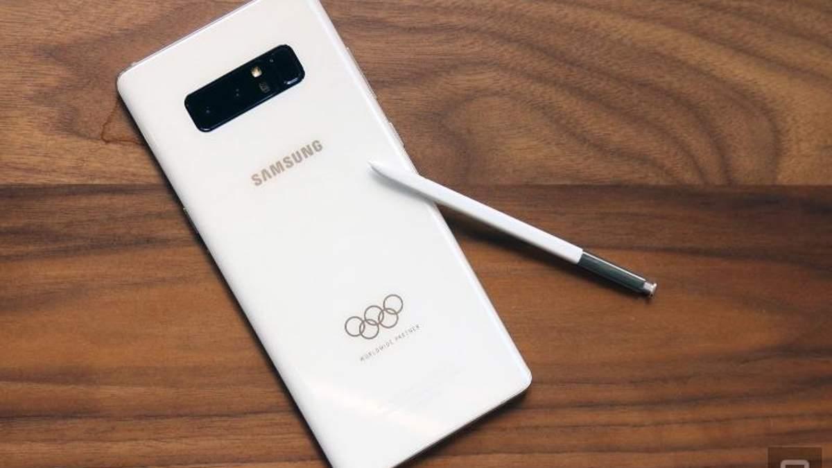 """Іран пригрозив Samsung бойкотом та """"жахливими наслідками"""" через подарункові олімпійські Galaxy Note 8"""