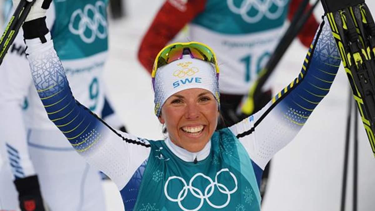 """Перше """"золото"""" на Олімпіаді-2018 завоювала шведська лижниця"""