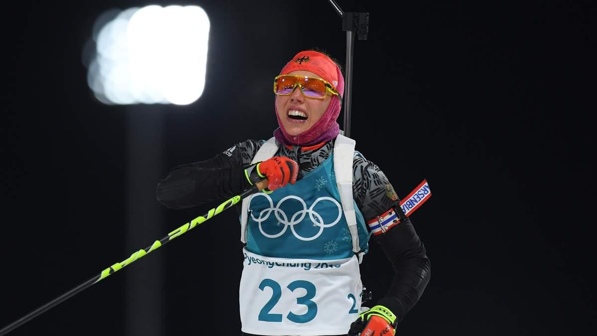 Біатлон на Олімпіаді-2018: Жіночий спринт виграла німкеня Лаура Дальмаєр