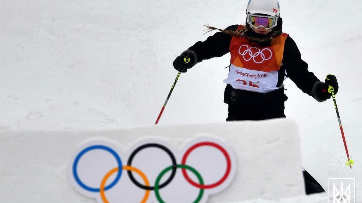 На Олимпийских играх-2018 украинка упала при выполнении прыжка