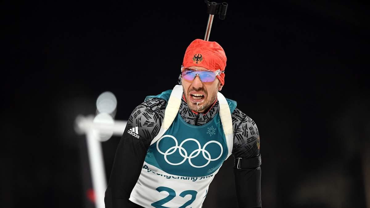 Біатлон на Олімпіаді 2018: Чоловічий спринт виграв Арнд Пайффер