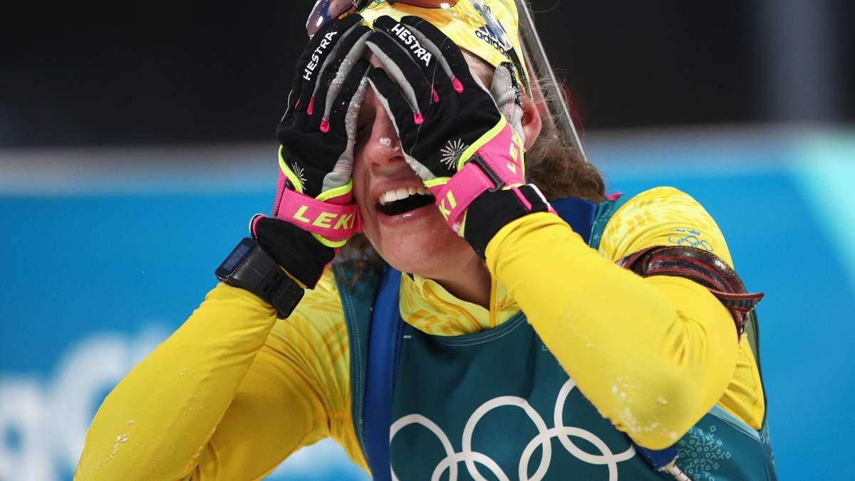 Біатлон на Олімпіаді 2018: Еберг перемогла в індивідуальній гонці