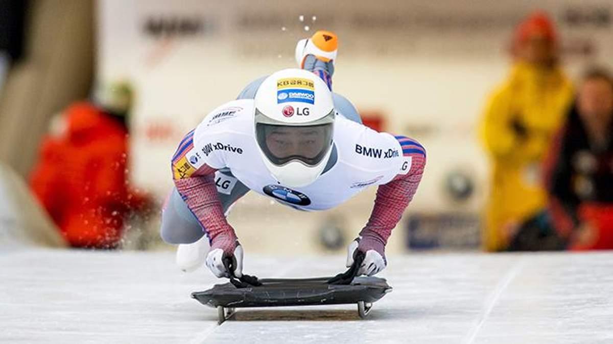 Олімпіада-2018: визначили найкращого скелетоніста
