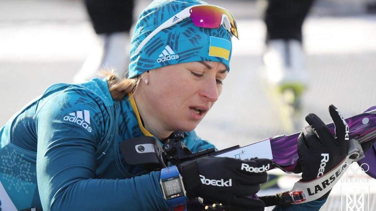 Біатлоністка Валя Семеренко розповіла про причини провалу у мас-старті на Олімпіаді