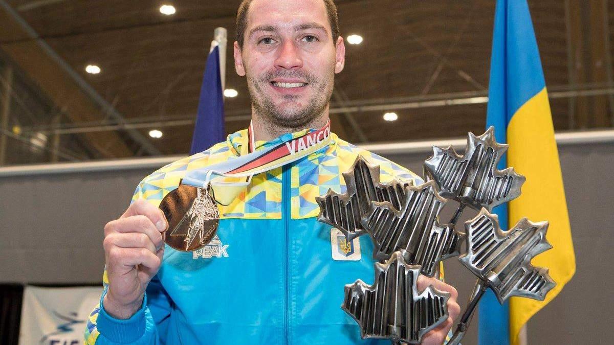 Богдан Нікішин став переможцем етапу Кубка світу з фехтування