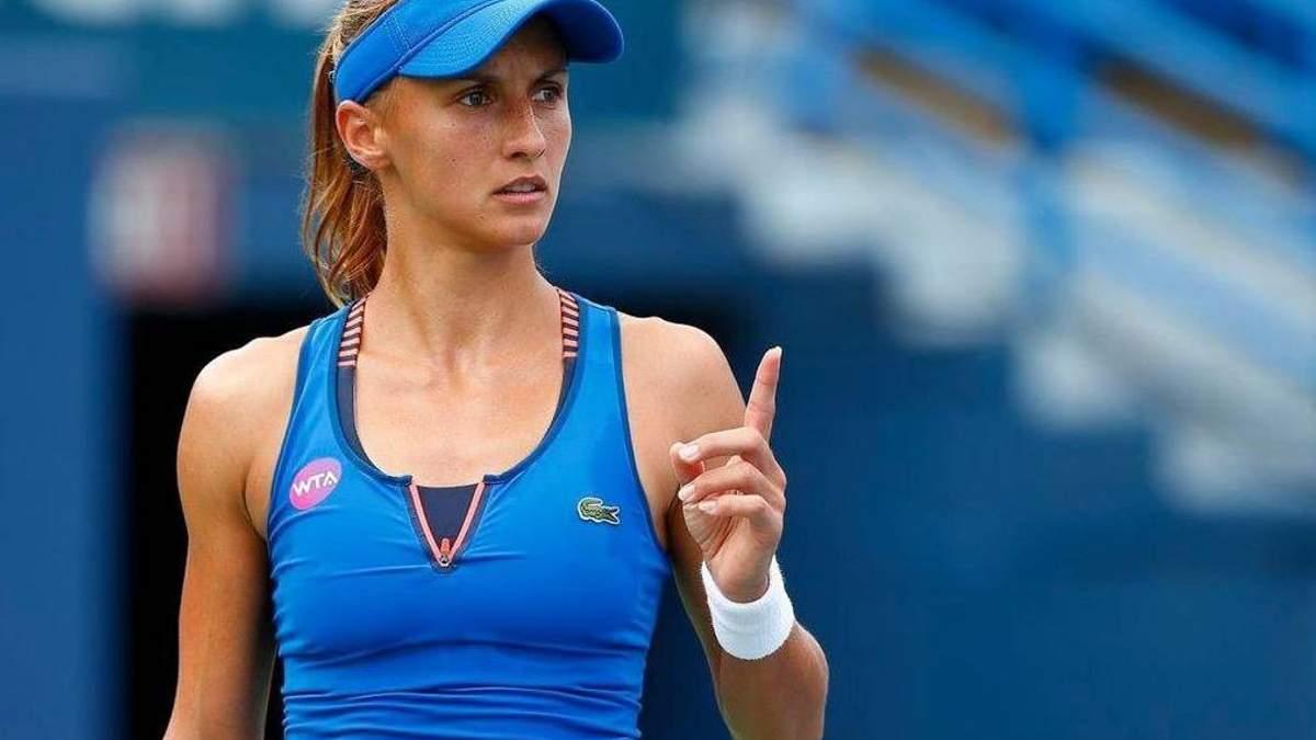 Теннис: Леся Цуренко победила фаворитку соревнований в Мексике