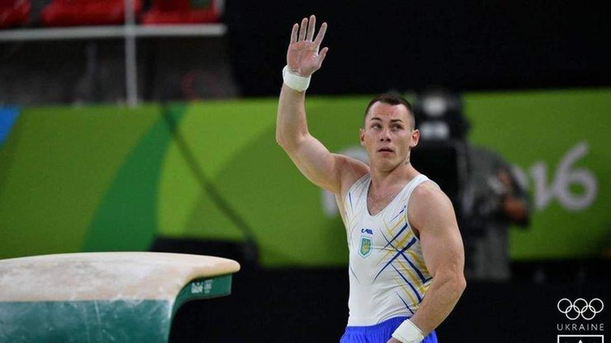 Український гімнаст Ігор Радівілов виграв етап Кубка світу у вправі на кільцях
