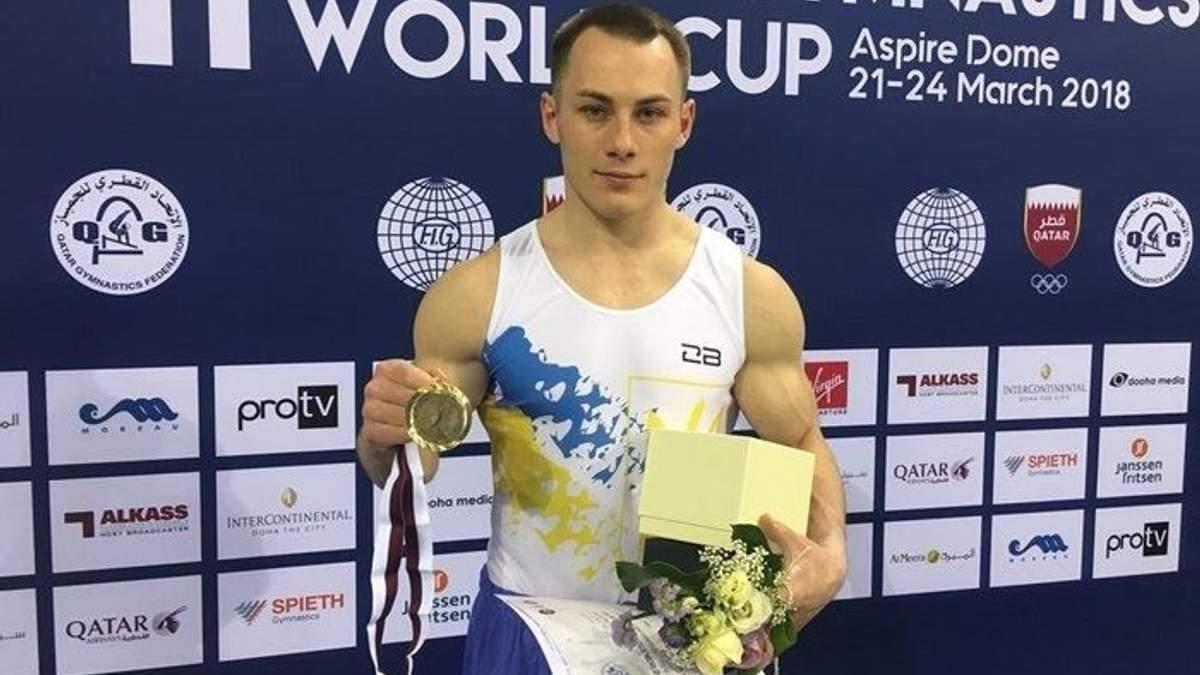 Український гімнаст Ігор Радівілов став дворазовим переможцем етапу Кубка світу