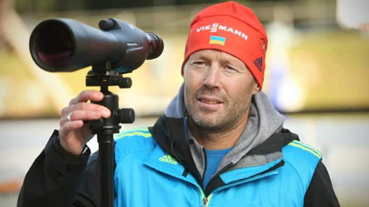 Українські біатлоністки залишились без тренера