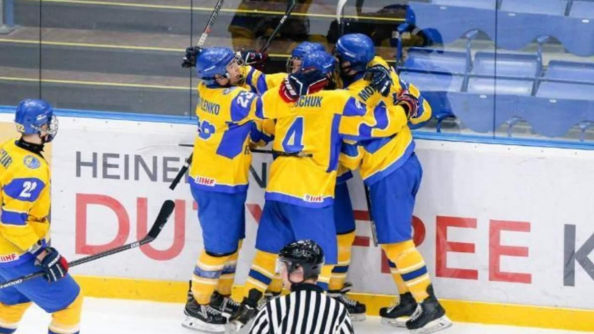 Українці перемогли збірну Італії на Чемпіонаті світу з хокею U-18 та очолили групу