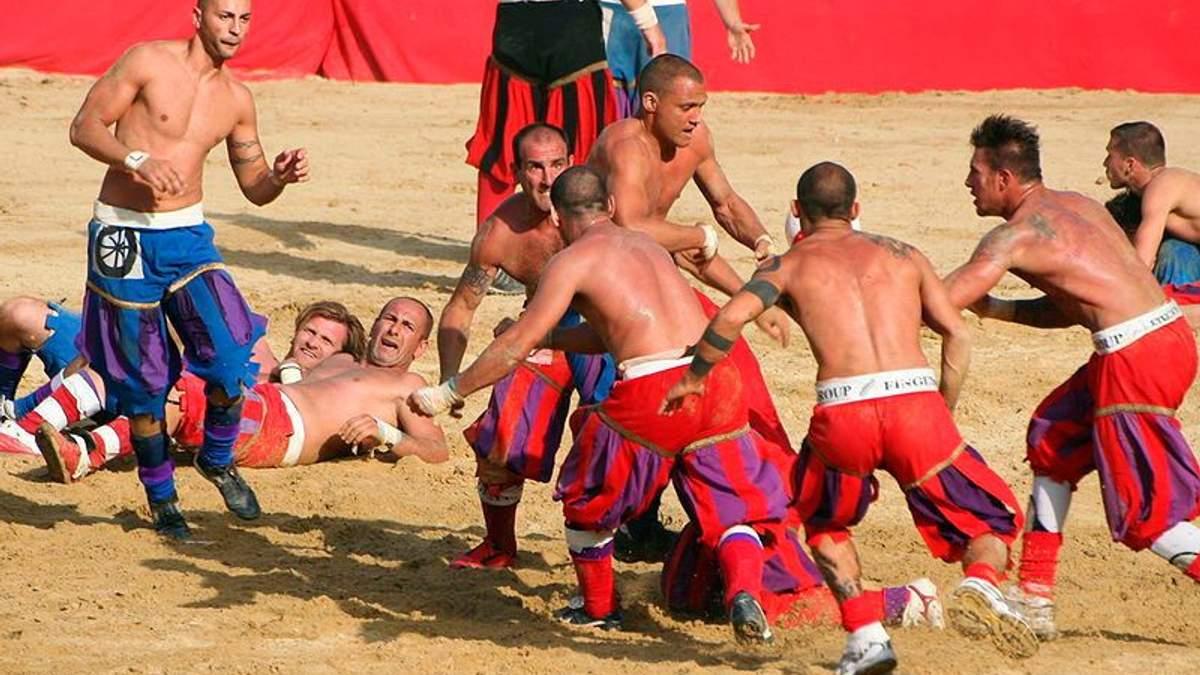 Спорт IQ. Флорентийский футбол