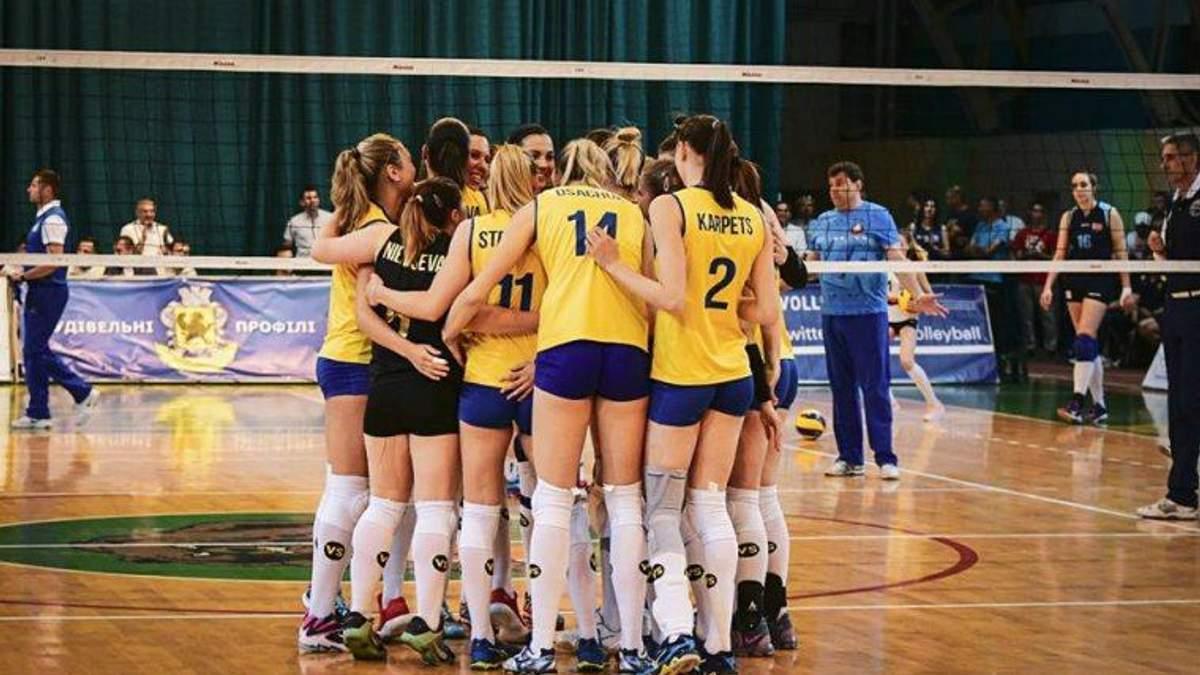 Жіноча збірна України з волейболу стала переможцем домашнього турніру