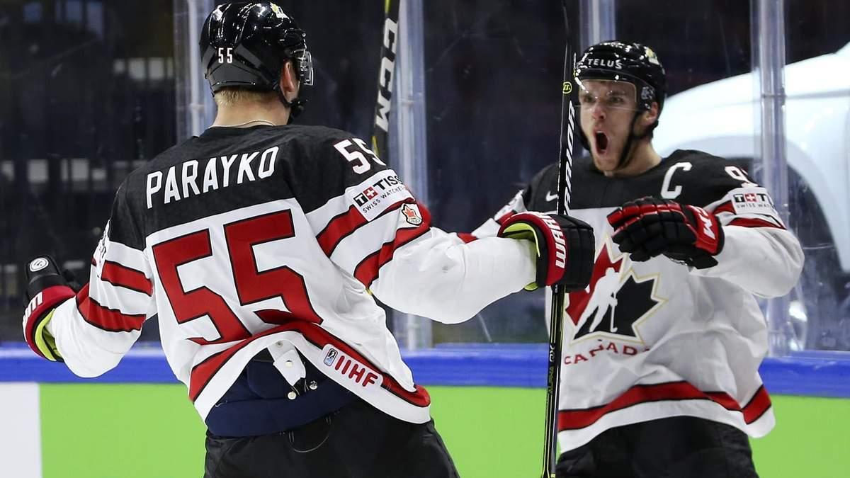 Россия уступила Канаде, США переиграли Чехию на Чемпионат мира по хоккею