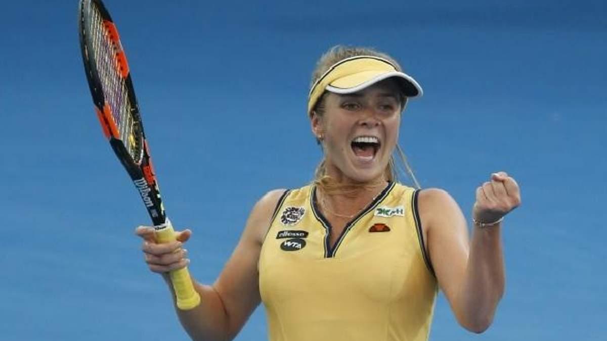 Элина Свитолина вышла в финал турнира в Риме
