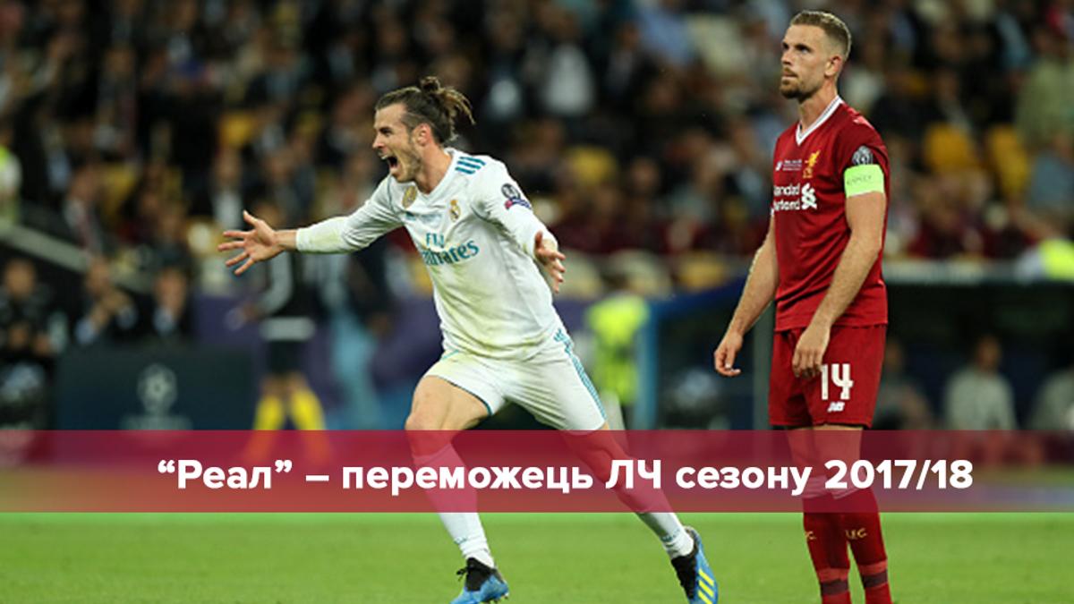 Реал – Ліверпуль: огляд фіналу Ліги чемпіонів 2018 у Києві