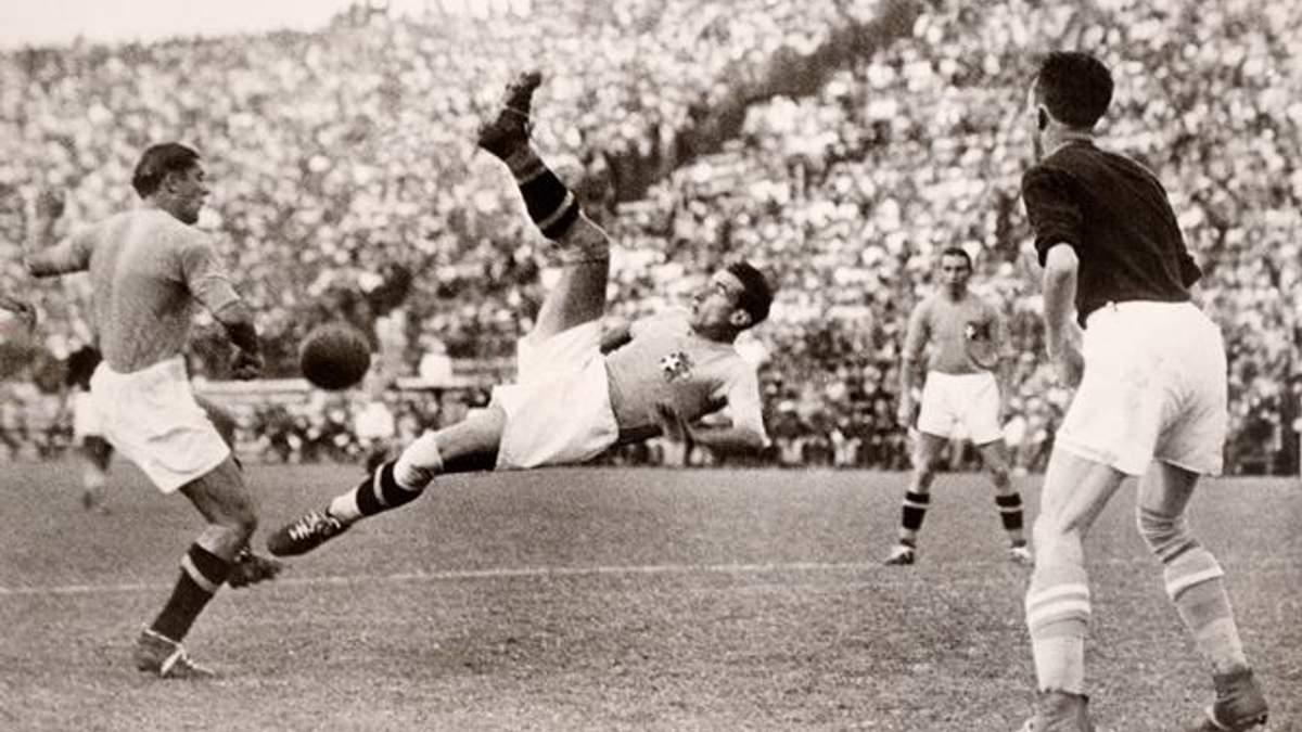 ЧМ-1934 по футболу: диктатор на трибуне, нацистская свастика и поломанные команды