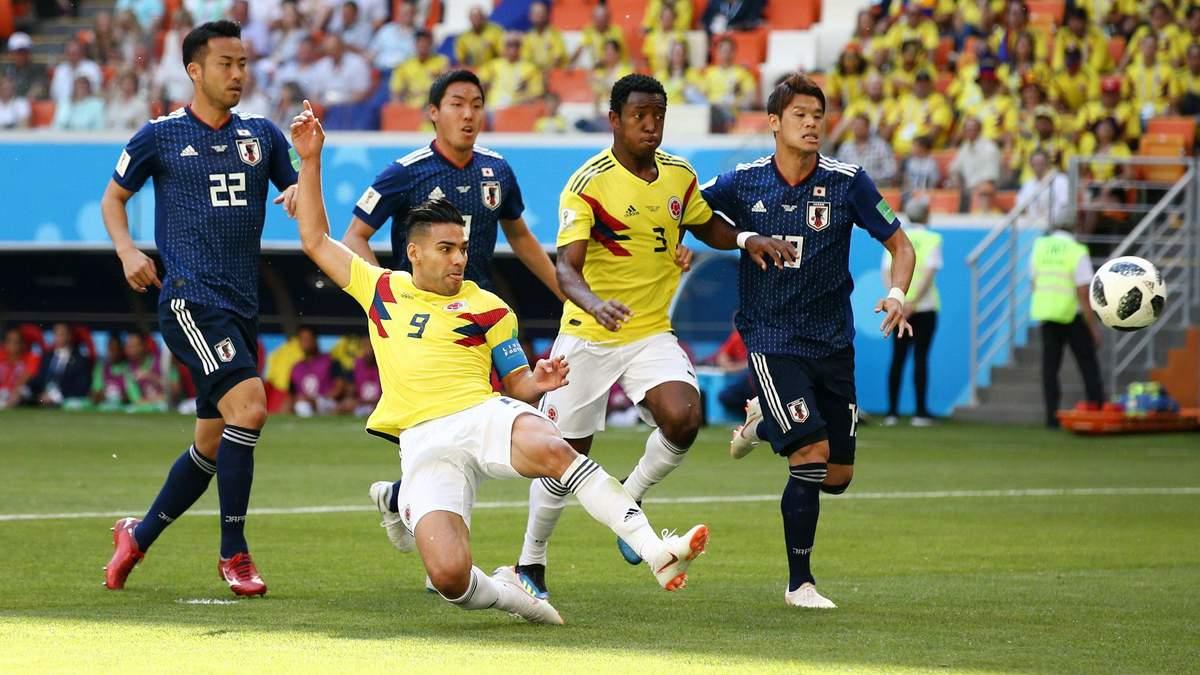 Колумбия – Япония результат матча Чемпионата мира