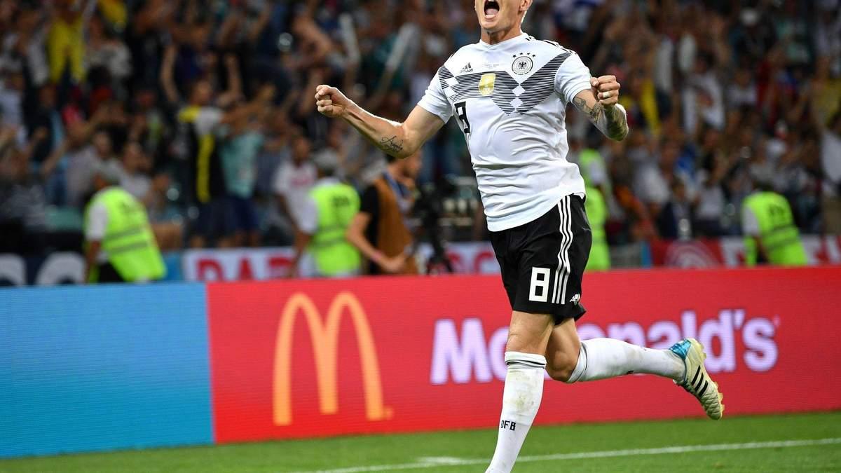 Німеччина – Швеція результат матчу ЧС-2018