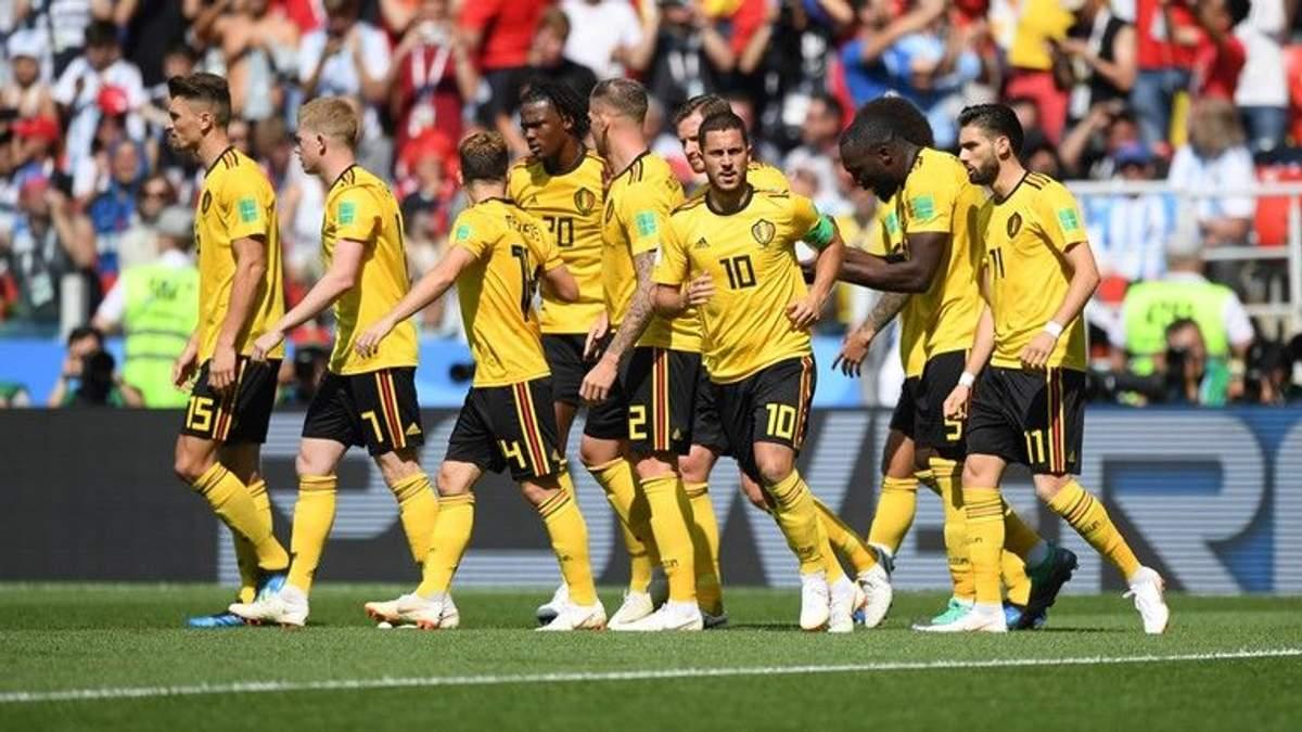 Бельгія – Туніс відео голів матчу ЧС-2018